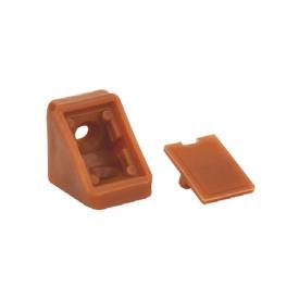 Куточок меблевий одинарний пластиковий GIFF кальвадос