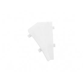 Угол к плинтусу Egger AC01 белый внутренний 135° 884492