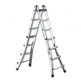 Телескопическая лестница SVELT SCALISSIMA 10+10