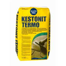 Смесь самовыравнивающаяся Kiilto Kestonit Termo 20 кг