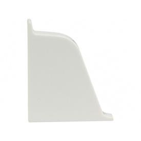Заглушка к плинтусу 118 Rehau Белый-левая 91115