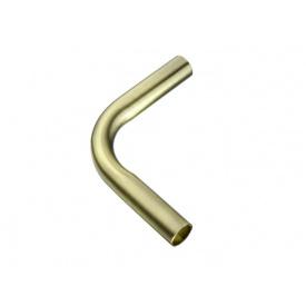 Кут з'єднувальний труби-рейлінга d=16 Lemax 90* бронза