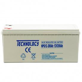 Гелевый аккумулятор ATABA TECHNOLOGY NPG12 200Ah