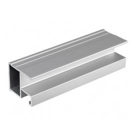 Профиль вертикальный Slider Modus L5300 серебро браш