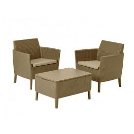 Комплект мебели Salemo balcony set капучино