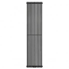 Трубчатый радиатор Betatherm Praktikum 1 2000x501 черный RAL9005M
