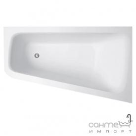 Пристінна ванна з литого каменю Balteco Piano L 170 біла лівостороння