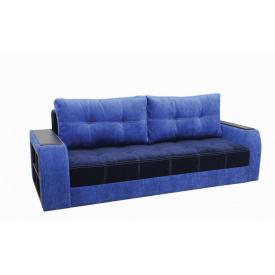Диван Garnitur.plus Барон темно-синий 245 см (DP-154)