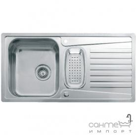 Кухонная мойка, врезной стандарнтый монтаж Reginox Admiral 1,5 LEFT (левосторонняя) Нержавеющая Сталь