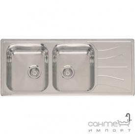 Кухонна мийка, виразний стандартний монтаж Reginoх Diplomat 30 DECOR Нержавіюча Сталь
