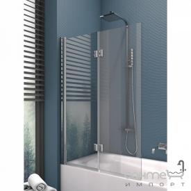 Шторка для ванни New Trendy Ikari 100 EXK-1191 прозоре скло