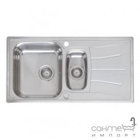 Кухонна мийка, виразний стандартний монтаж Reginoх Diplomat 1.5 DECOR LEFT (лівостороння) Нержавіюча Сталь