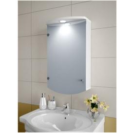 Шкаф зеркальный Garnitur.plus в ванную с LED подсветкой 4SZ (DP-V-200103)
