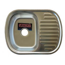 Кухонная Мойка Platinum 6349 Satin