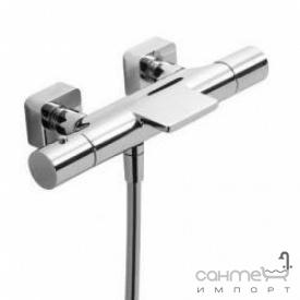 Змішувач для ванни термостатичний з душовою лійкою Tres Loft-Tres 200.174.09 Хром