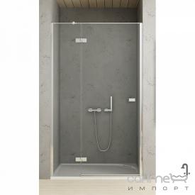 Душевая дверь New Trendy Reflexa 110 L EXK-1210 левая, прозрачное стекло