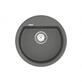 Кухонная Мойка Vankor Easy Emr 01.45 Gray + Сифон Vankor