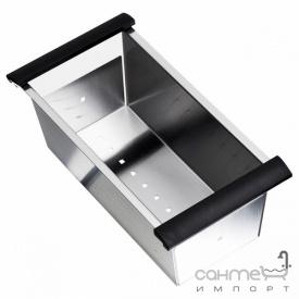Коландер для кухонной мойки Longran Geo 1.0 BK 0651 нержавеющая сталь