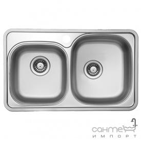 Кухонная мойка Ukinox Comfort COP 780.480 18 GT 8K R правосторонняя, полированная нерж. сталь