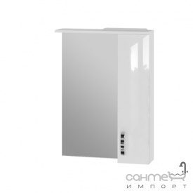 Зеркальный шкаф Ювента Trento TrnMC-60 правый белый