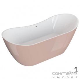 Отдельностоящая ванна Polimat Abi 180x80 00403 белая/пепельная