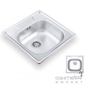 Кухонная мойка Ukinox Comfort 503.503 GT 6K L декор