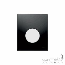 Панель смыва для писсуара стеклянная (черное стекло) TECE TECEloop Urinal 9.242.654 клавиша белая