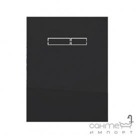 Стеклянная сенсорная панель смыва для подвесного унитаза TECE TECElux sen-Touch 9 650 003 черная