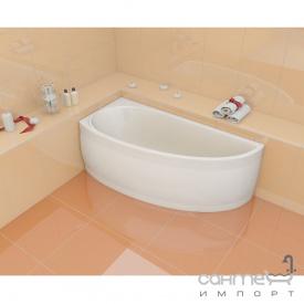 Асиметрична ванна Artel Plast Даліна левостронняя