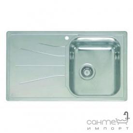 Кухонна мийка, виразний стандарнтий монтаж Reginoх Diplomat 10 DECOR RIGHT (правобічна) Нержавіюча Сталь