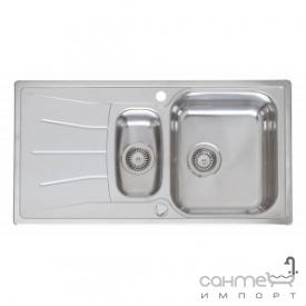 Кухонна мийка, виразний стандартний монтаж Reginoх Diplomat 1.5 RIGHT (правобічна) Нержавіюча Сталь