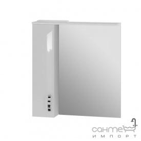 Зеркальный шкаф Ювента Trento TrnMC-75 левый белый