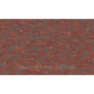 Клинкерный кирпич OLFRY Rot-Blau-Bunt Glatt, 240х115х71