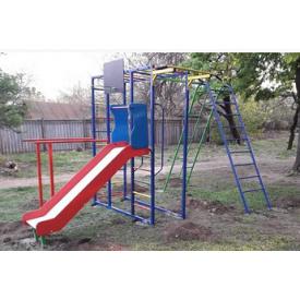 Детская спортивная площадка Dalli 819 для улицы металлический комплекс с горкой
