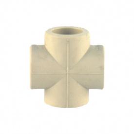Хрестовина PP-R 40 мм сіра