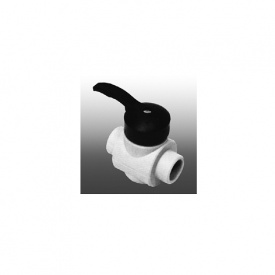 Кульовий кран PP-R 20 мм білий