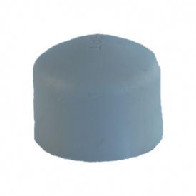 Заглушка PP-R 63 мм сіра