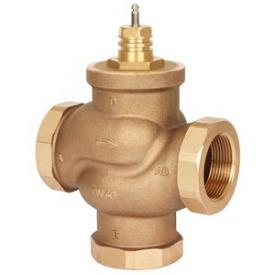 Сідельний регулюючий 3-ходовий клапан VRB3 Ду15 kvs = 0,63 м3 / ч