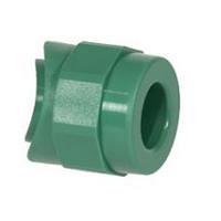 Вварное седло PP-R 90x25 мм зеленый