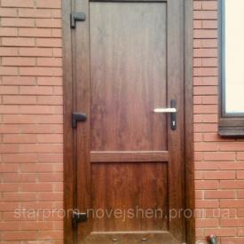 Наличник дверной плaстиковый ламинированный 2,1-1м набор с креплением золотой дуб