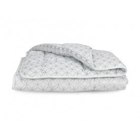Облегченное одеяло Лебяжий Пух Премиум Leleka-Textile Двуспальный 172х205 Круги