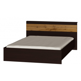 Кровать двуспальная Эверест Соната-1400 венге + аппалачи
