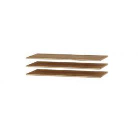 Полки для Шкафа-1000 Эверест Либерти (к-кт 3 шт.) Крафт золотой