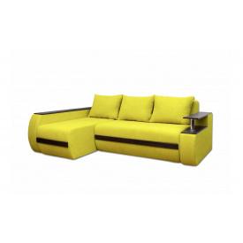Угловой ортопедический диван Garnitur.plus Граф Песочный 245 см