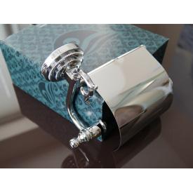 Держатель для туалетной бумаги KUGU Versace хром 211C