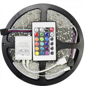 Светодиодная лента RGB 5050 300 LED 5 м (hub_tErc90327)
