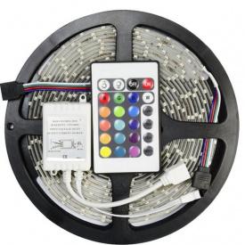Лента светодиодная UKC RGB комплект 38/25 5 метров длинна