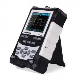 Осциллограф цифровой портативный с аккумулятором KKMOON DS0120M, 120 МГц 500 Мб/с, генератор сигнала (100735)