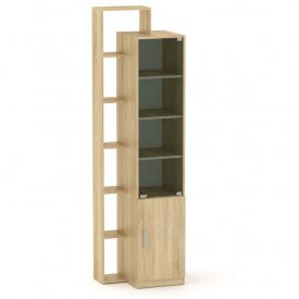 Шкаф витрина с полками Компанит Шкаф-10 дуб сонома
