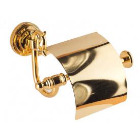 Держатель для туалетной бумаги KUGU Versace 211G Золото (3350)